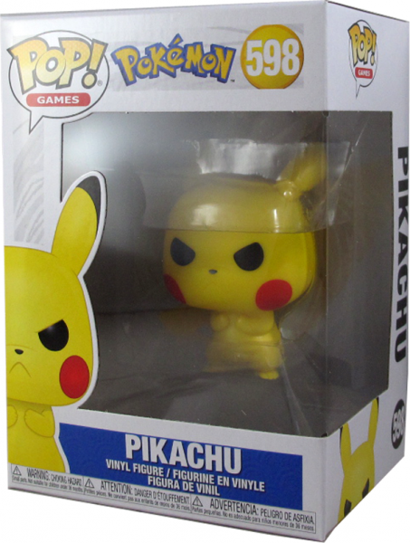 Action Figur Funko Pop Pokemon - Verärgertes Pikachu # 598