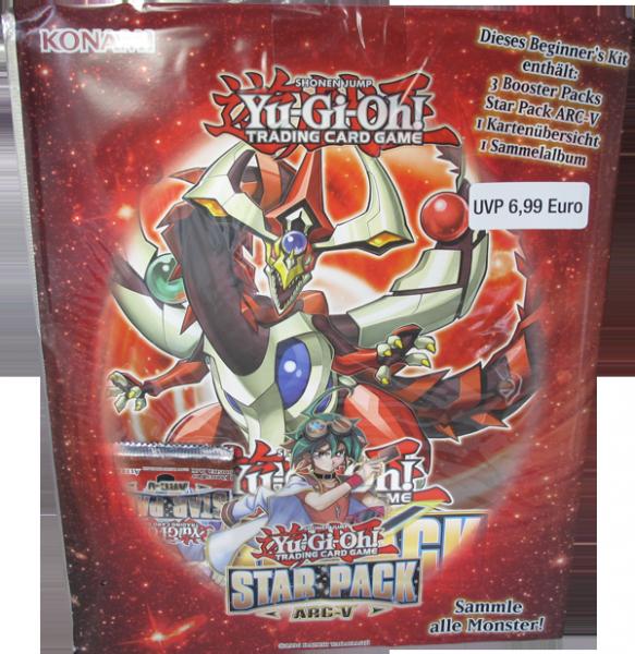 Yu-Gi-Oh! Star Pack ARC-V Beginner´s Kit