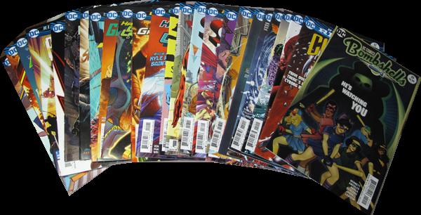 25er US-Set DC Comic