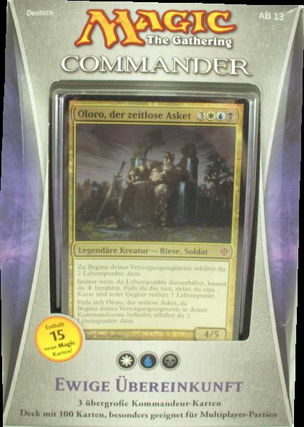 Magic Commander Deck 2013: Ewige Übereinkunft