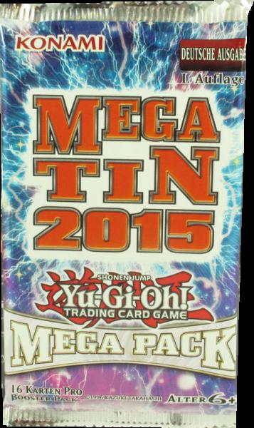 Yu-Gi-Oh! Mega Tin 2015 Booster deutsch
