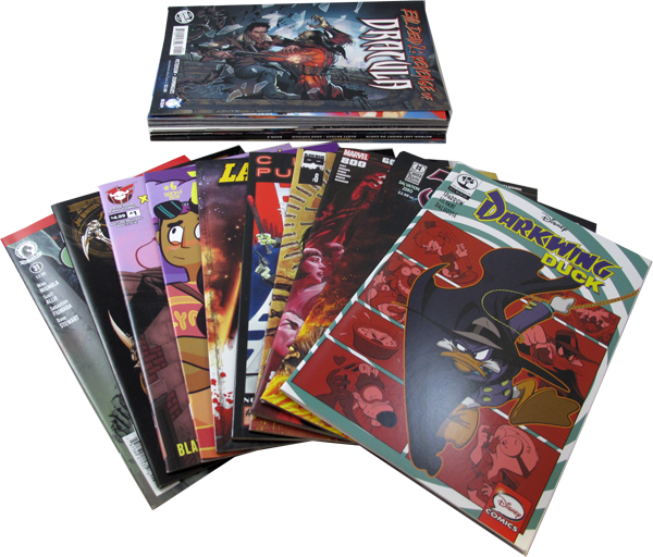 25 diverse US-Comics Pack