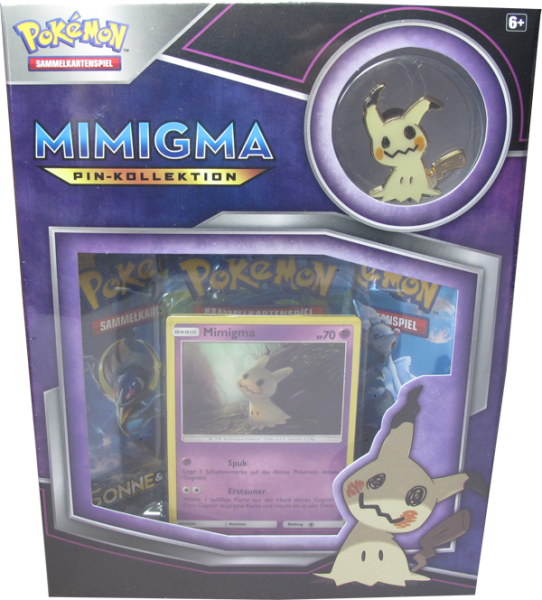 Pokemon Mimigma Pin-Kollektion