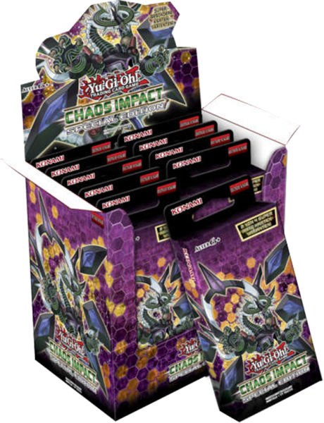 Yu-Gi-Oh! Chaos Impact Special Edition Display