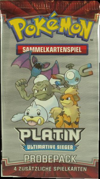 Pokemon Platin Ultimative Sieger Probepack