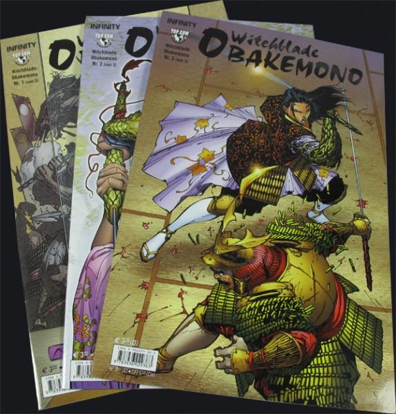 Witchblade: Obakemono #1-3