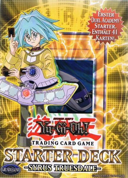 Yu-Gi-Oh! Syrus Truesdale Starter Deck deutsch