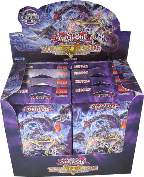 Yu-Gi-Oh! Zombie Horde Structure Deck Display