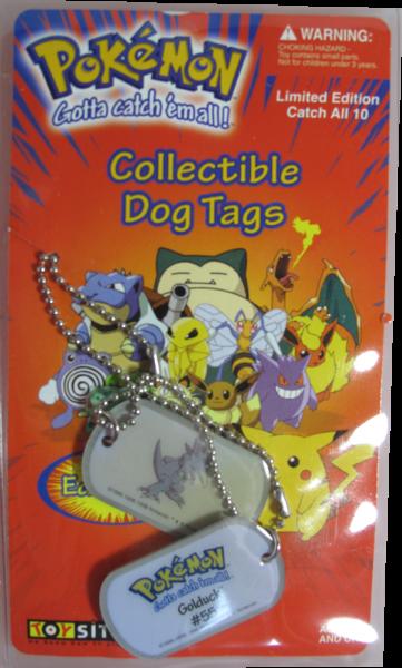 Pokemon Dog Tag Golduck #55