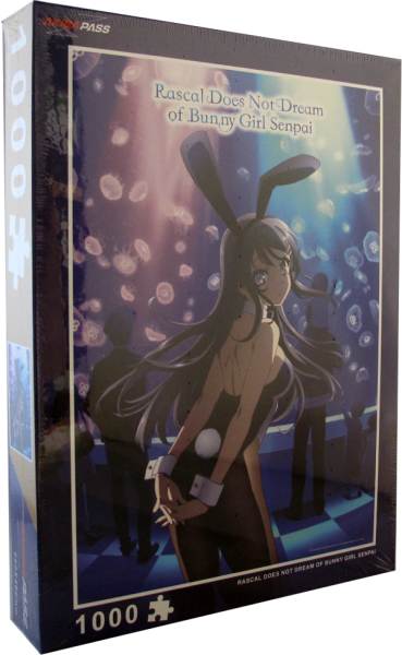 1000 Teile Puzzle - Rascal does not Dream of Bunny Girl Senpai