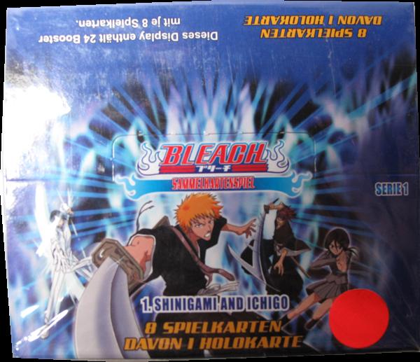 Bleach Serie 1 Shinigami and Ichigo Display