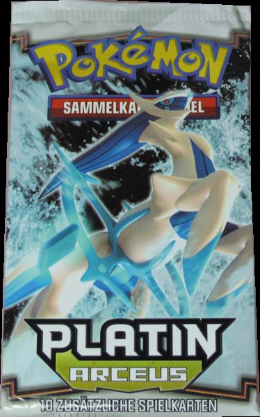 Pokemon Platin Arceus Booster