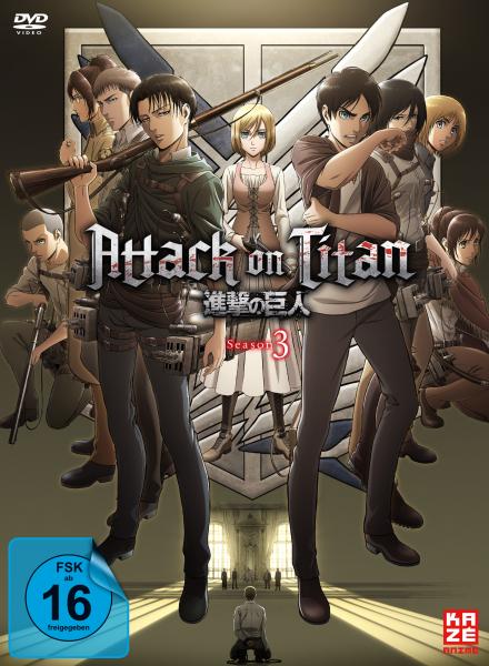 Attack on Titan 3. Staffel Vol. 01 + Sammelschuber