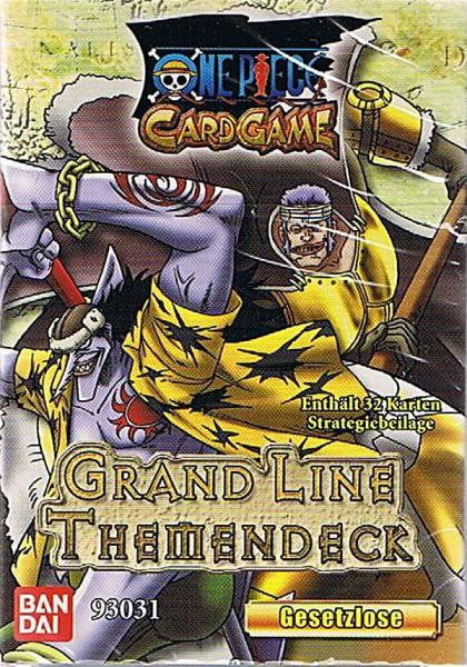One Piece Grand Line Themendeck - Gesetzlose