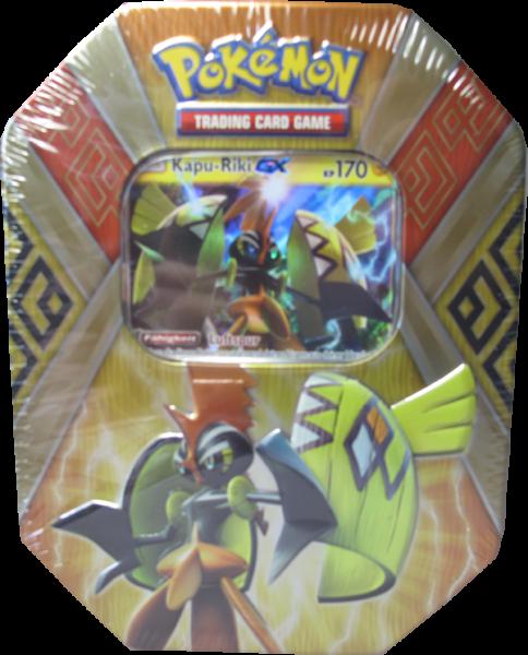 Pokemon Kapu-Riki GX Tin Box deutsch