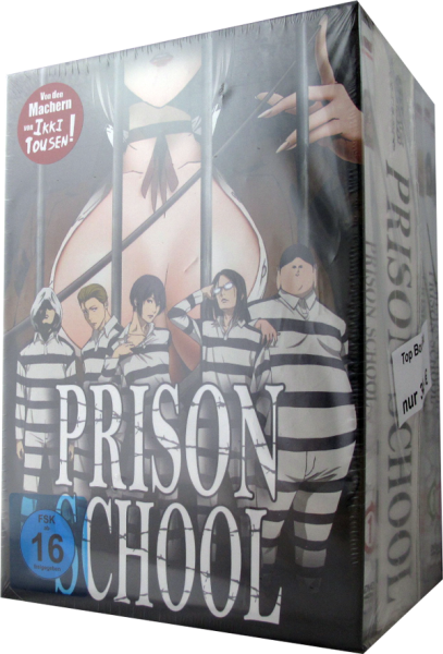 Prison School Set 1 - 4 DVD