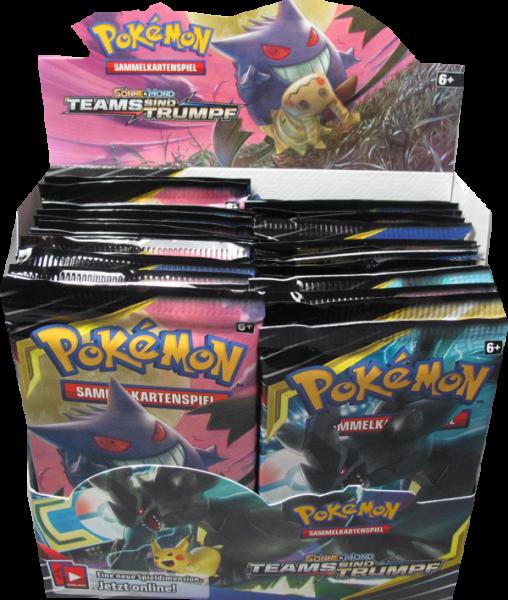 Pokemon Sonne & Mond Teams sind Trumpf Booster Display - OOP