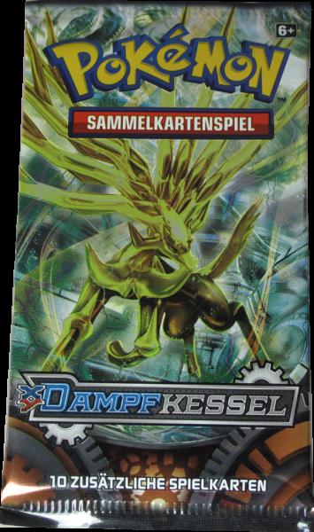 Pokemon XY Dampfkessel Booster