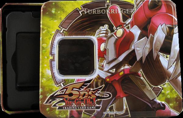 Yu-Gi-Oh! Turbokrieger Tin Box - Ohne Inhalt