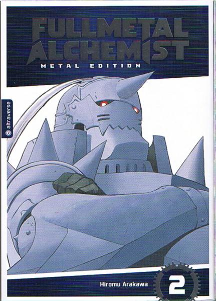 Fullmetal Alchemist Metal Editon 02