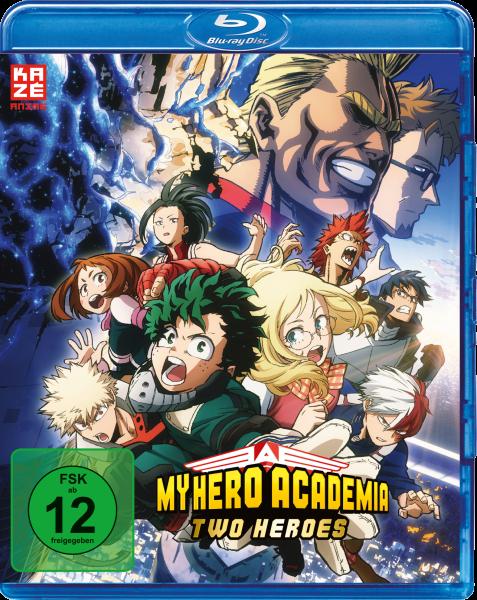 My Hero Academia Two Heroes Blu-ray
