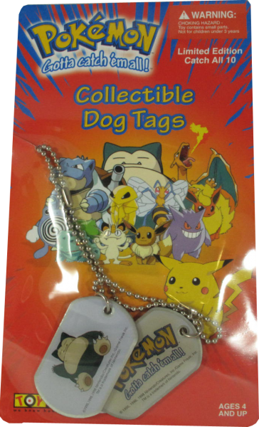 Pokemon Dog Tag Relaxo