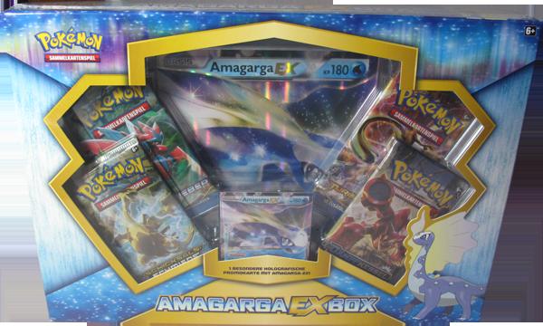 Pokemon Amagarga-EX Box