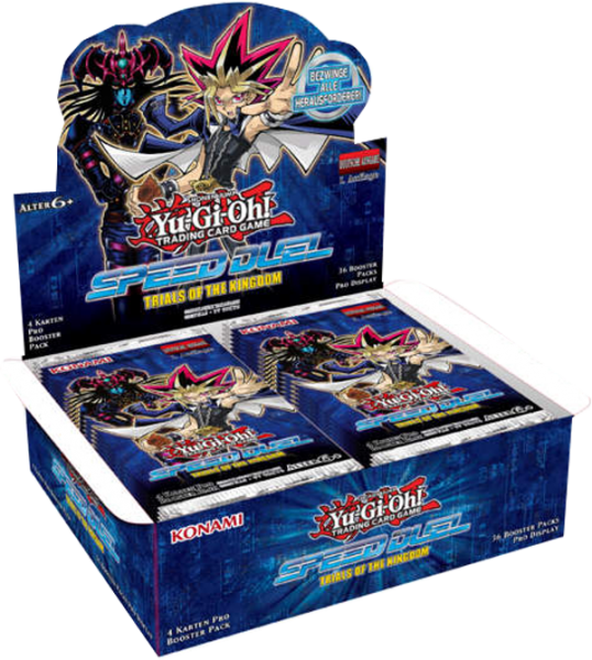 Yu-Gi-Oh! Speed Duel Trials of Kingdom Booster Display