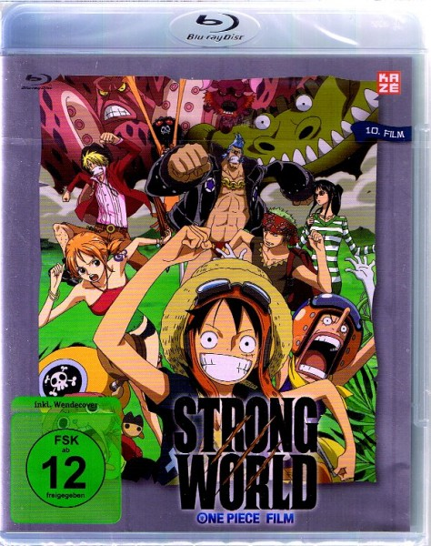 One Piece The Movie 10: Strong World Blu-ray