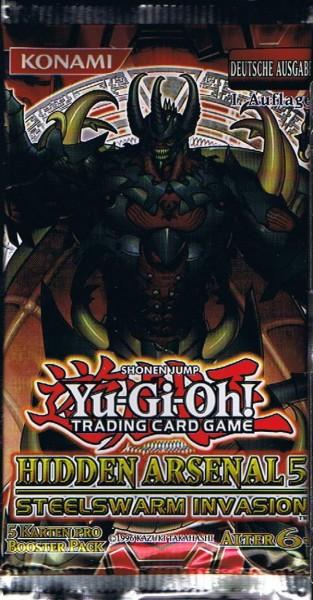 Yu-Gi-Oh! Hidden Arsenal 5 Booster deutsch