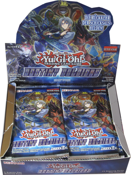 Yu-Gi-Oh! Destiny Soldiers Booster Display