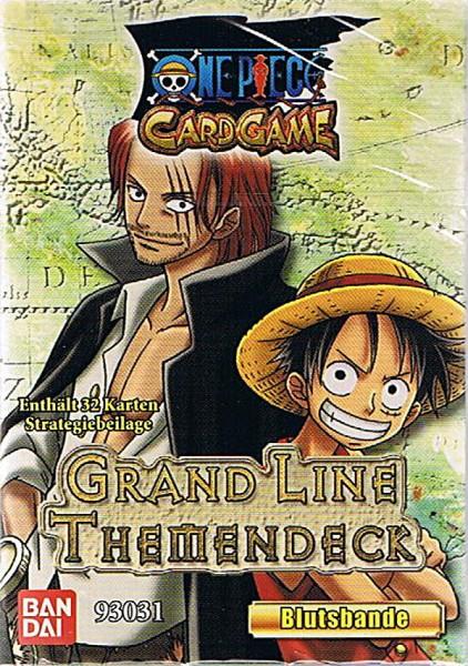 One Piece Grand Line Themendeck - Blutsbande