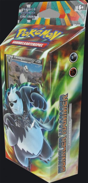 Pokemon XY Fliegende Fäuste Themendeck Dunkler Hammer