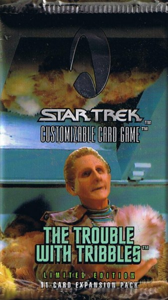 Star Trek The Trouble with Tribbles Booster