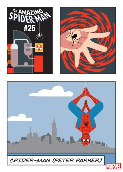 AMAZING SPIDER-MAN #25 POP CHART VAR