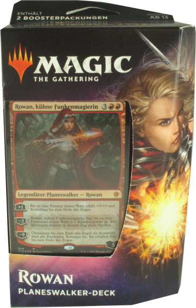 Magic Thron von Eldraine Rowan Planeswalker Deck