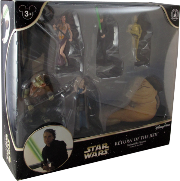 Star Wars Return of the Jedi 6 Collectible Figures