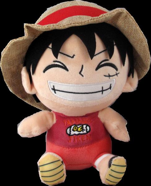 Plüschfigur One Piece Ruffy 20cm
