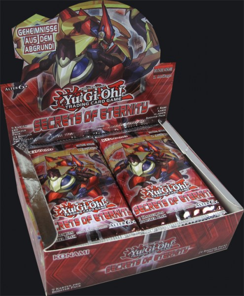 Yu-Gi-Oh! Secrets of Eternity Booster Display