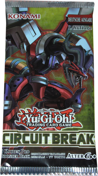 Yu-Gi-Oh! Circuit Break Booster deutsch