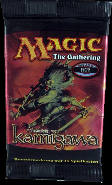 Magic Meister von Kamigawa Booster deutsch