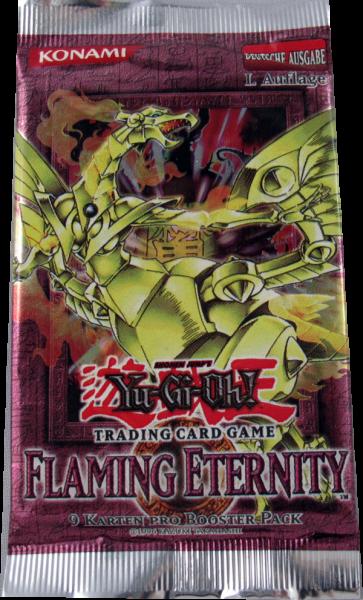 Yu-Gi-Oh! Flaming Eternity Booster deutsch