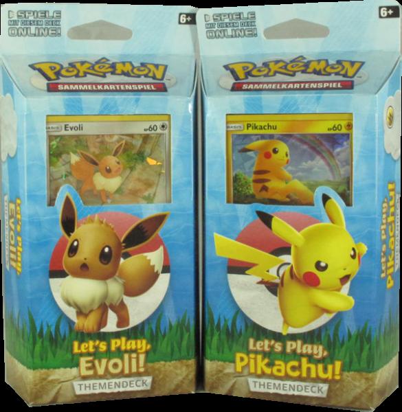 Pokemon Let's Play Themendeck Set