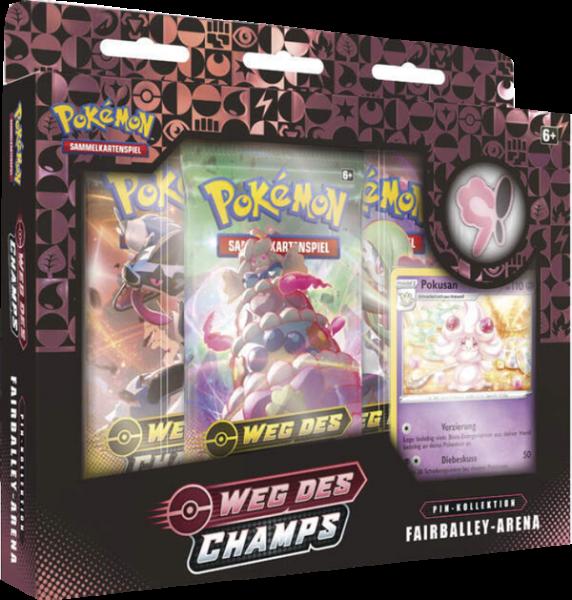 Pokemon Weg des Champs Fairballey-Arena Pin-Kollektion deutsch
