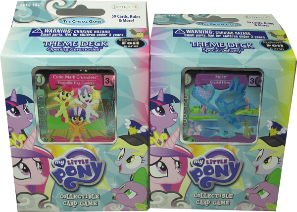 My little Pony The Crystal Games Theme Deck Set: Opening Ceremonies & Special Delivery