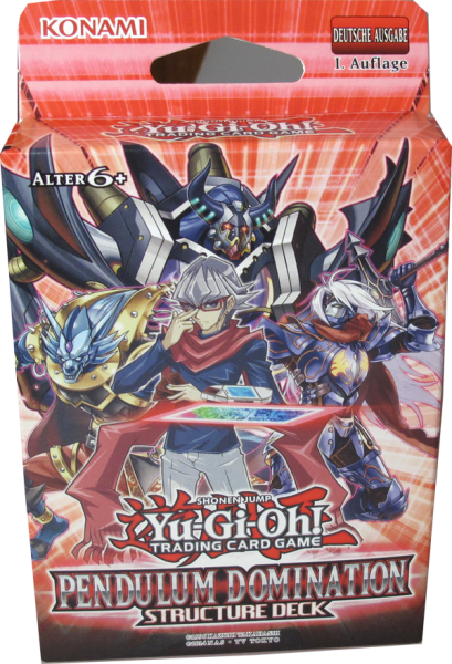 Yu-Gi-Oh! Pendulum Domination Structure Deck