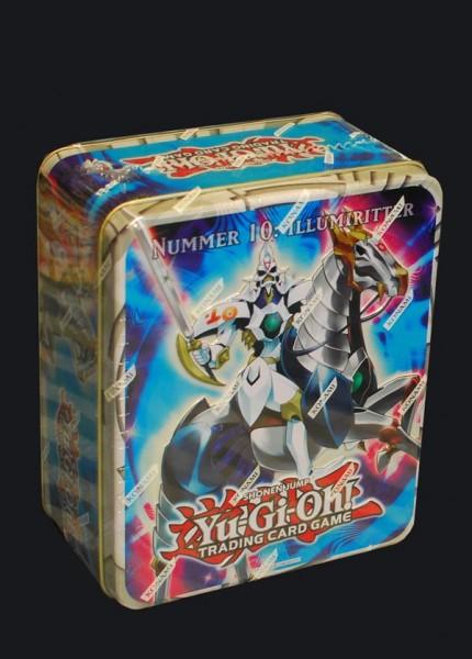 Yu-Gi-Oh! Nummer 10: Illumiritter Tin Dose deutsch