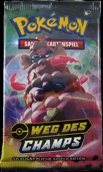 Pokemon Weg des Champs Booster deutsch