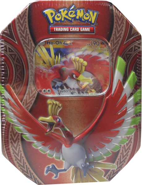 Pokemon Ho-Oh GX Tin Box deutsch