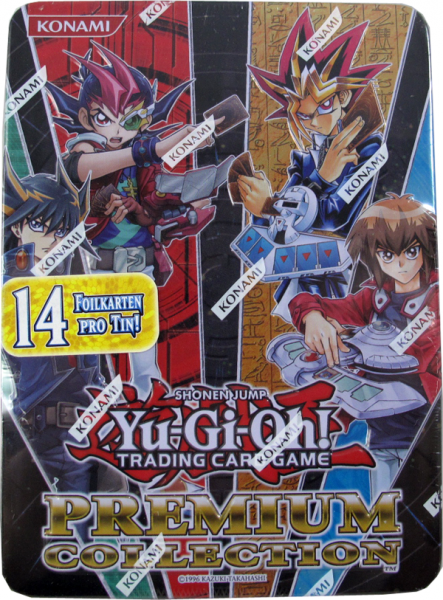 Yu-Gi-Oh! Premium Collection Tin deutsch